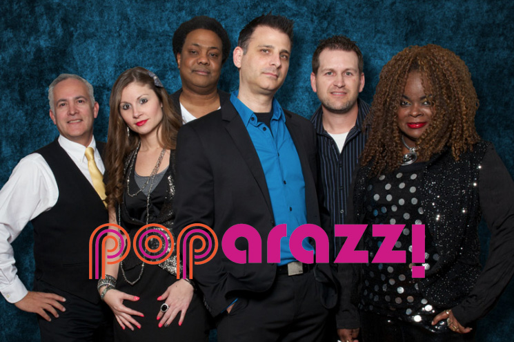 Poparazzi Band group photo