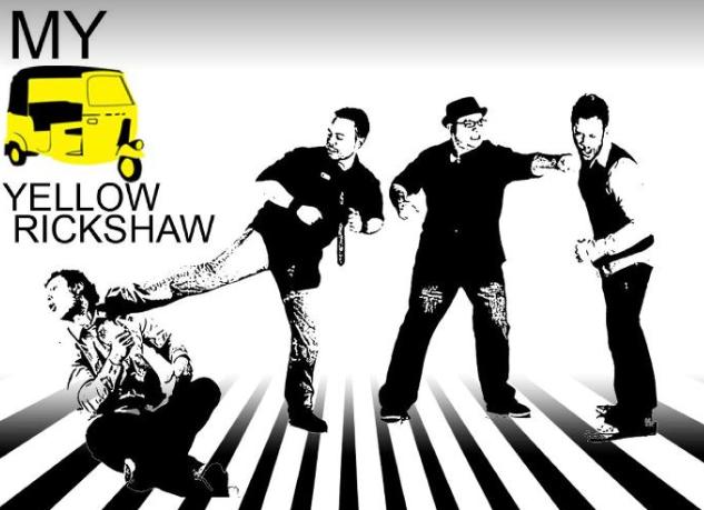 my yellow rickshaw band photo